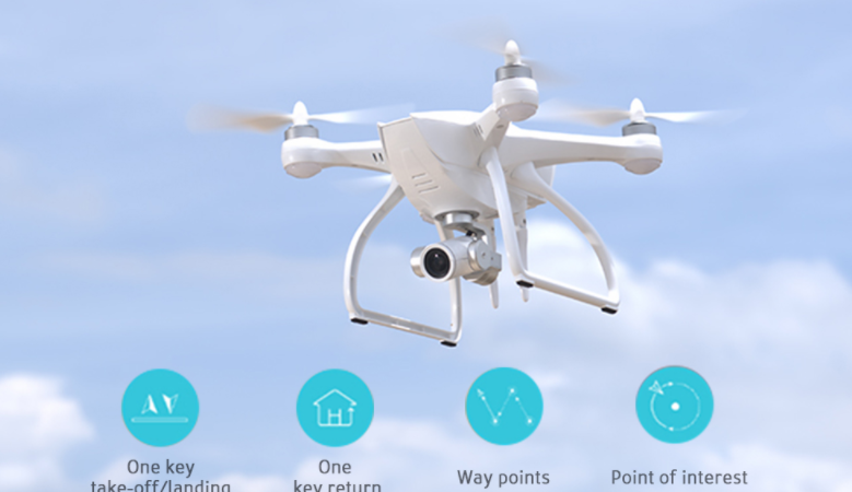 JYU Hornet 2 Aerial Photography RC Quadcopter