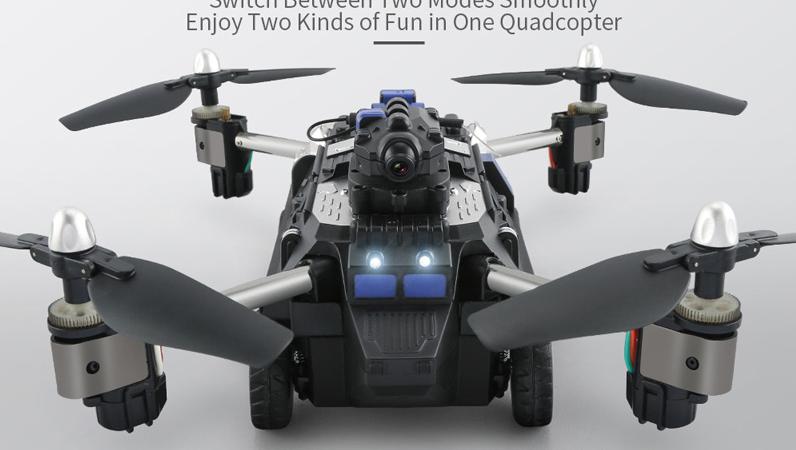 空飛ぶ戦車 JJRC H40WH Wifi FPV RC Tank & Quadcopter
