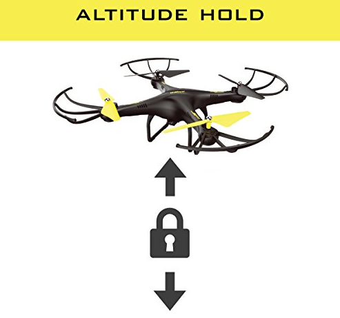 Alutitude hold 自動ホバリング