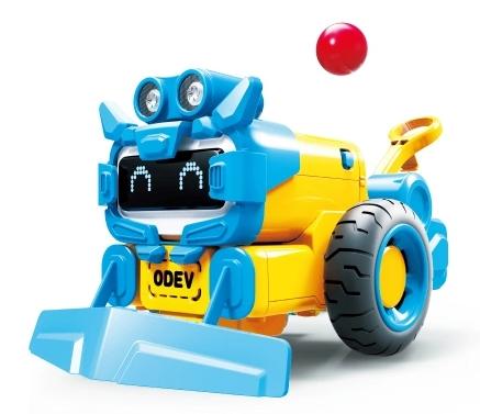 TOMTOPセール対象 遊べて学べるロボット ROBY ODEV STEM Smart Robot DIY Kit