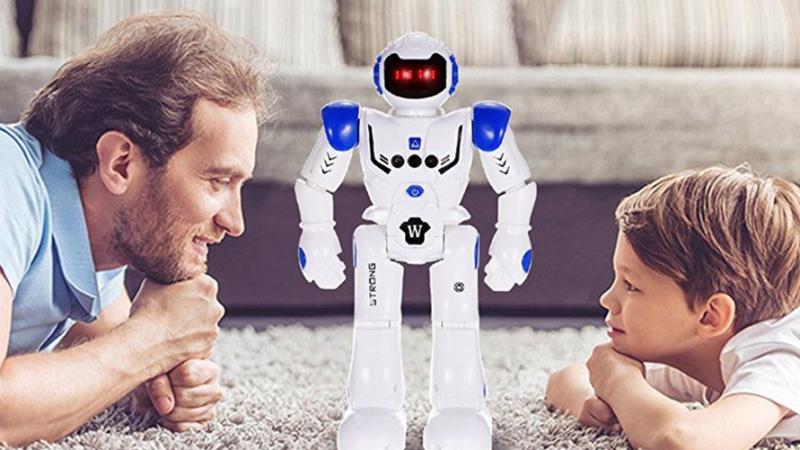 ジェスチャーだけで動かせるラジコンロボット Remote Control Intelligent Electronic Robot Toy