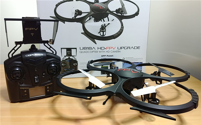 U818A HD FPV UPGRADE 感想まとめ