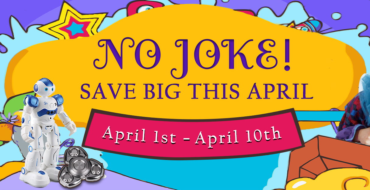 April Fool's Day Sale