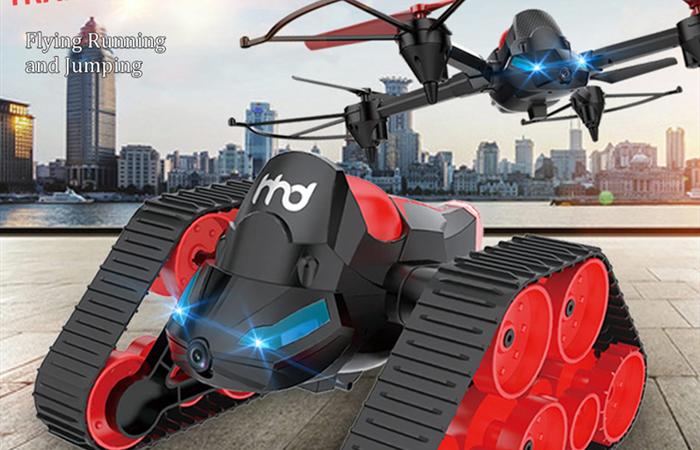 空も陸も欲張りセット!HEHENGDA TOYS H3 RC Quadcopter