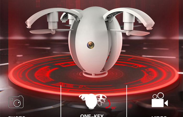 不思議な魅力の卵型ドローン Kai Deng K130 Alpha flying Egg Drone