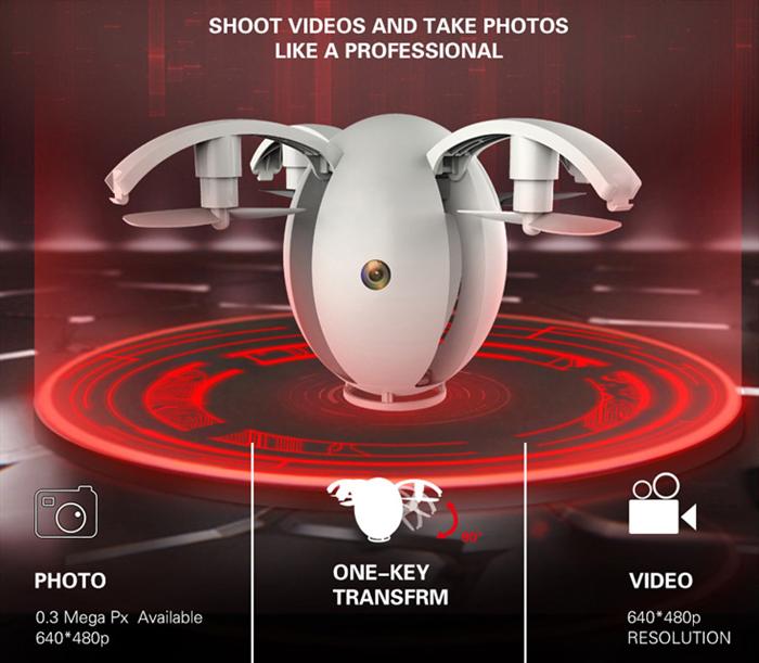 Kai Deng K130 Alpha Egg Drone