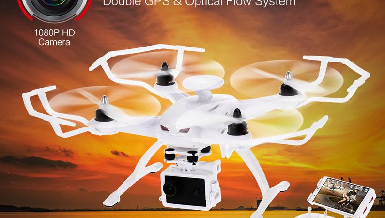 AOSENMA CG035 Optical FlowとGPS搭載 空撮用トイドローン