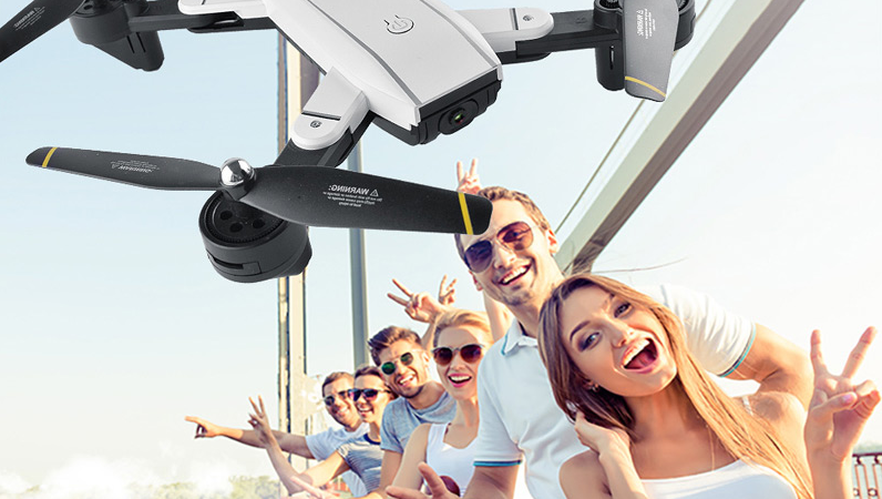 SG700 二つのカメラを搭載したOptical Flowタイプドローン