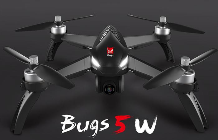 MJX Bugs 5W B5W GPS+ジンバル付き8MPカメラ搭載空撮機が登場!