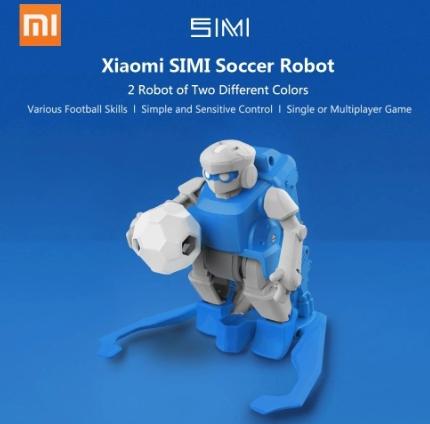 部屋で遊べるサッカーロボセット Xiaomi SIMI Football Robot 2Pcs