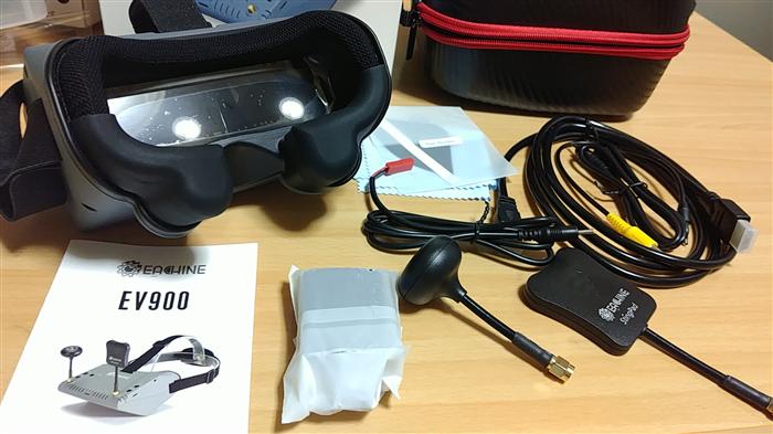 EACHINE EV900 FPVゴーグルレビュー
