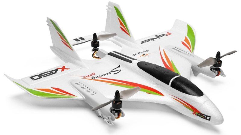 ドローン+飛行機合体!XK X450 VTOL RC Airplane