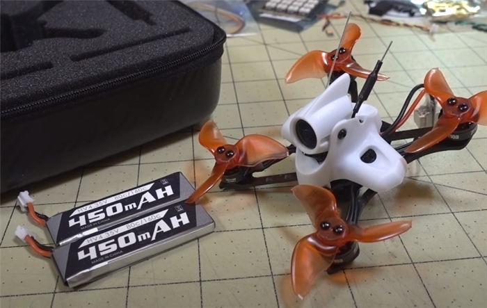 EMAX Tinyhawk II RACE RunCam Nano2で高画質FPV!